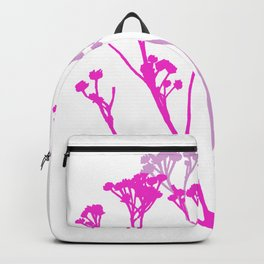 We pick the pretty ones and bring them home Backpack