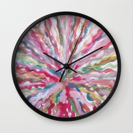 Wolle wolle wolle Wall Clock