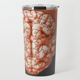 Puzzle brain GINGER / Your brain on puzzles Travel Mug