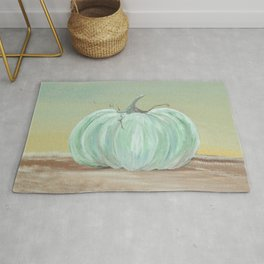 Ready for Fall Cinderella pumpkin Rug