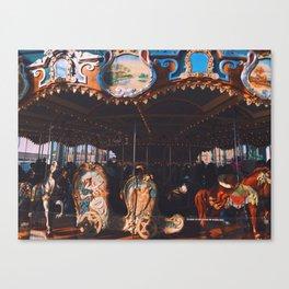 Jane's Carousel Canvas Print