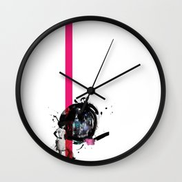 with love from Moscow  Wall Clock