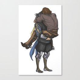 Smol & Strong Canvas Print