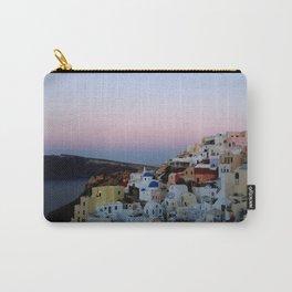 Dawn of Santorini Greece Carry-All Pouch