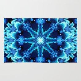 Crystal Light Mandala Rug