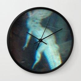 Albino Alligator 2 Wall Clock