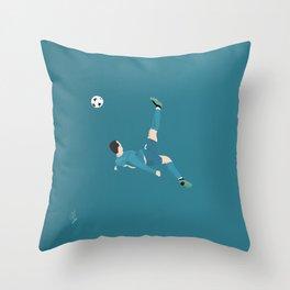 Cristiano Ronaldo - Real Madrid Throw Pillow