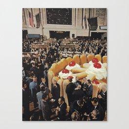 Trading Floor Canvas Print