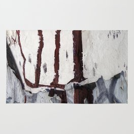 Dripping paint Rug