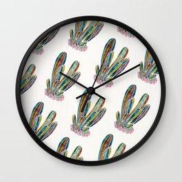 Cactus Custer – Vintage Palette Wall Clock