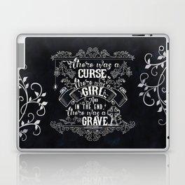 Beautiful Creatures - Grave - Black Laptop & iPad Skin
