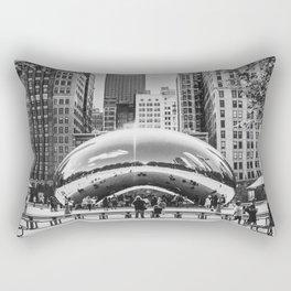 Chicago Cloud Gate / The Beam Rectangular Pillow