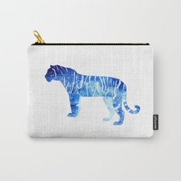 Blue Tiger in the Jungle Carry-All Pouch