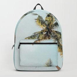 Palm Tree Beach Summer Backpack