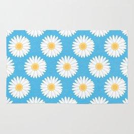 Spring Daisies_Blue Sky Rug
