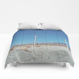 Palm Springs Windmills VIII Comforters