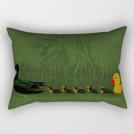 Rubber Duckling Rectangular Pillow