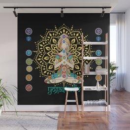 Yoga Studio Wall Mural