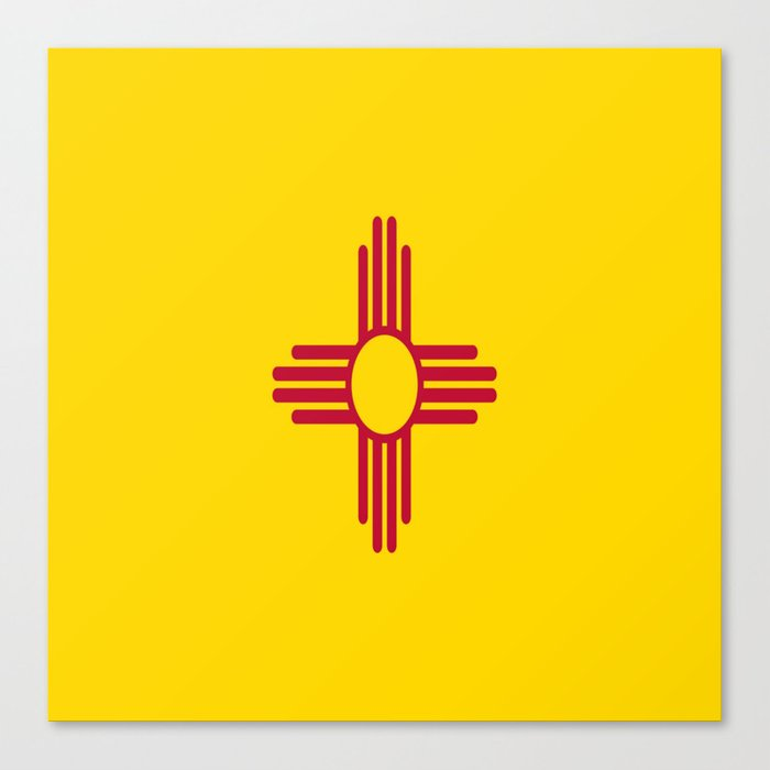 Flag New Mexico Usaamericasunzia Sun Symbolnew Mexican