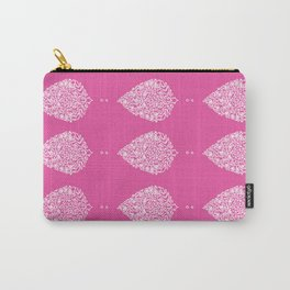 Fuchsia Moroccan Paisley Carry-All Pouch