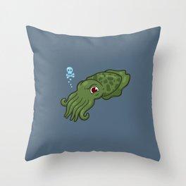 Cuttlefish - Cthulu Edition Throw Pillow