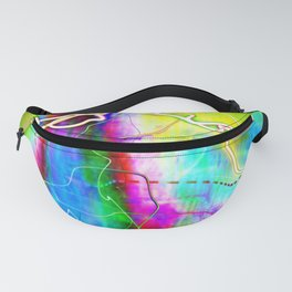 SYNESTHESIA Light Painting Experiment 113 Fanny Pack