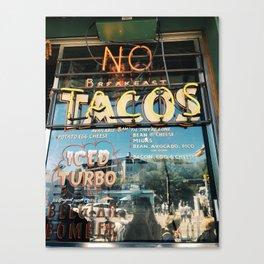 Tacos in Austin, TX Canvas Print