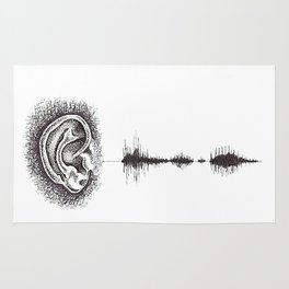 Hearing Damage Rug