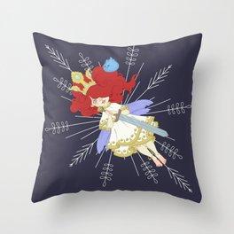 Speltöser - Aurora - Child of Light Throw Pillow