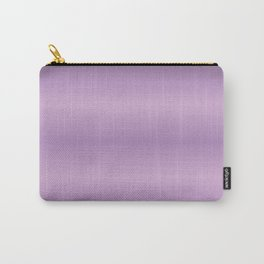 Purpe Gradint Strips Carry-All Pouch