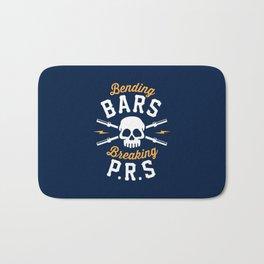 Bending Bars Breaking PRs Bath Mat