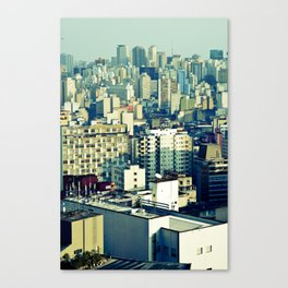 Concrete Sampa City Canvas Print