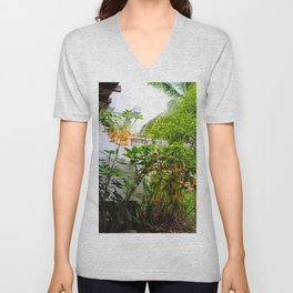 Dreamy Mexican Trumpets Unisex V-Neck