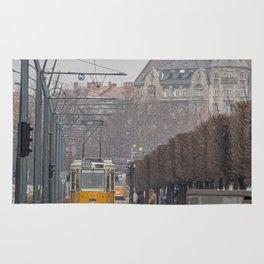 Budapest Tram. Rug
