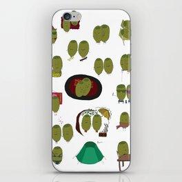 Olive Love iPhone Skin