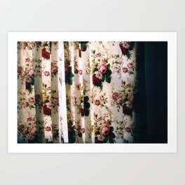 Curtains Art Print