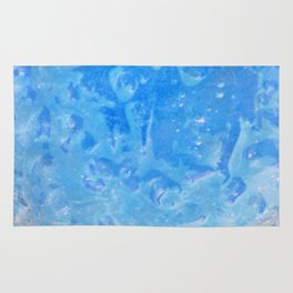 blue lagoon cocktail Rug