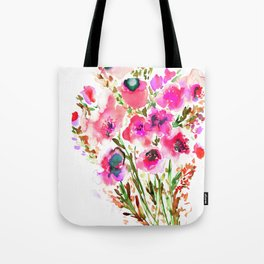 Bouquet Pink Tote Bag