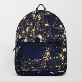 Gold map Backpack