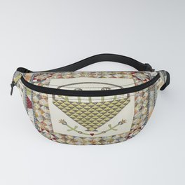 Pennsylvania Dutch Medallion Quilt Fanny Pack