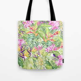 Tropical Garden 1A #society6 Tote Bag