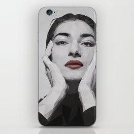 Geometric Callas iPhone Skin