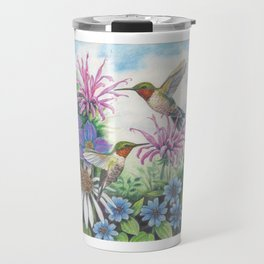 Hummingbird and Bergamot Travel Mug