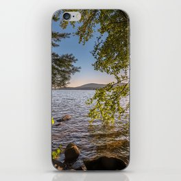 Secret Place By The Lake iPhone Skin