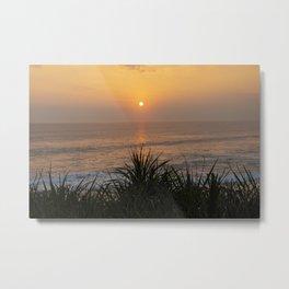 Sunset Bali Metal Print