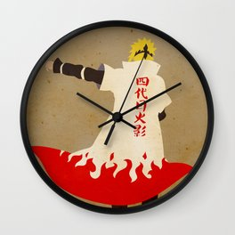 To be a ninja is to confront hatred Wall Clock