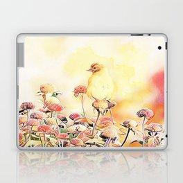 Little Gold Finch Laptop & iPad Skin