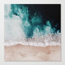 Ocean (Drone Photography) Canvas Print