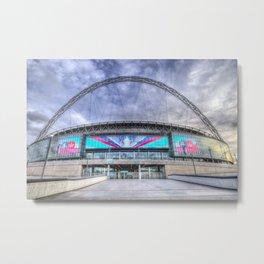 Wembley Stadium London Metal Print