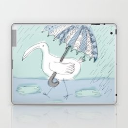 umbrella bird Laptop & iPad Skin